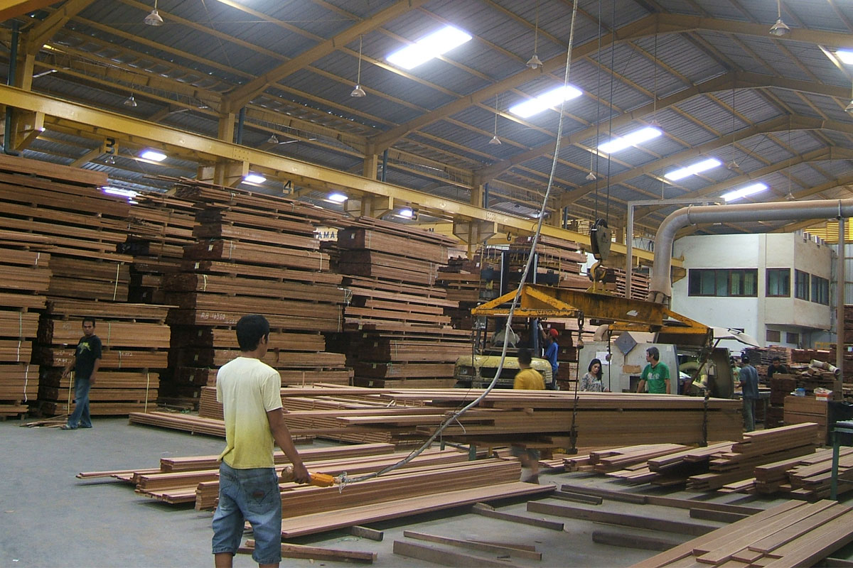 About Us Bangkirai Decking Yellow Balau Decking Manufacture