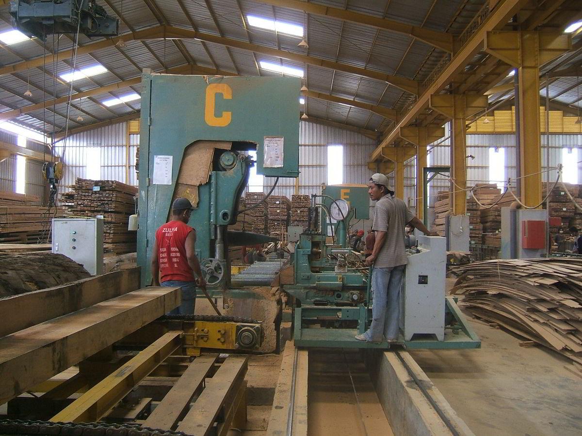 Perusahaan kayu 17