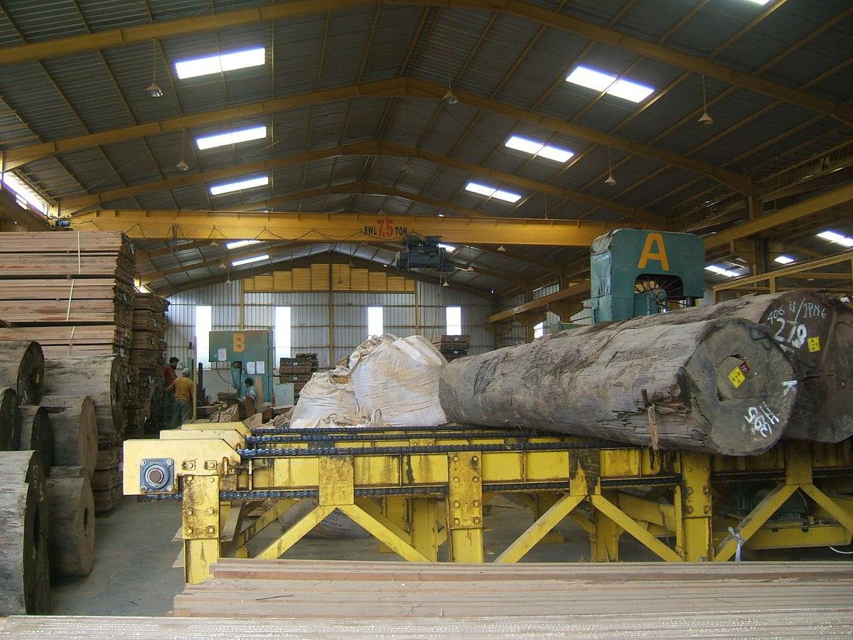 Perusahaan kayu 22