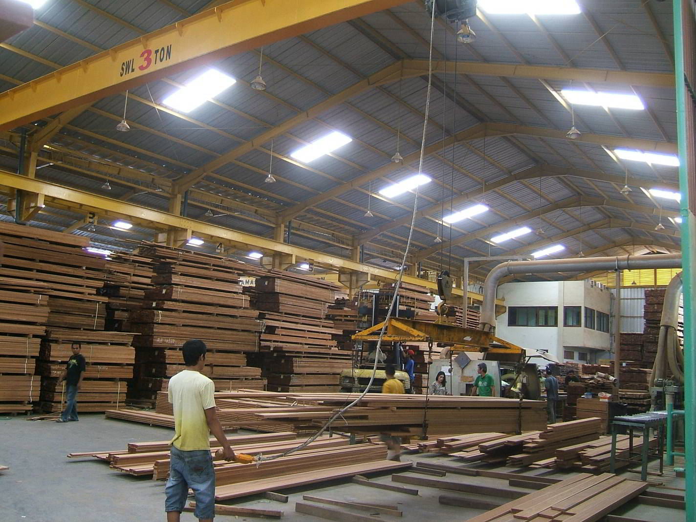 Perusahaan kayu 6